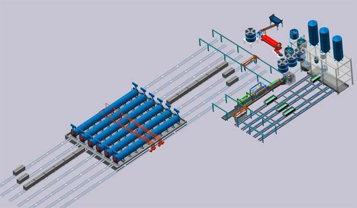 加气混凝土砌块设备,加气块设备,轻质砖设备